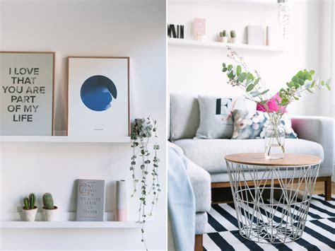 wohnzimmer blau wohnzimmer neu einrichten kupfer ros 233 und blau