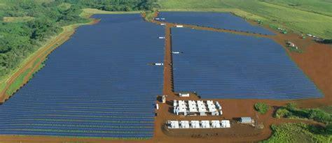 Elon Musk Kauai | tesla built a huge solar energy plant on the island of