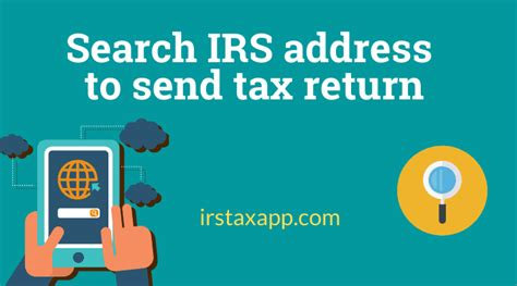 mail  tax return find address easily  internal revenue code simplified