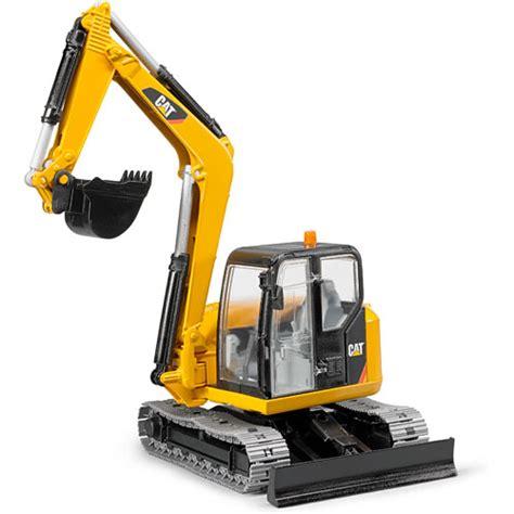 bruder excavator bruder cat mini excavator play matters toys
