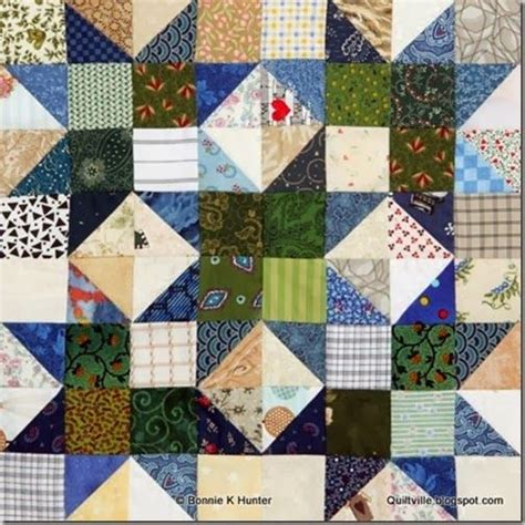 Www Quiltville Scrap Quilts by Scrap Crystals By Bonnie Quilt Blocks