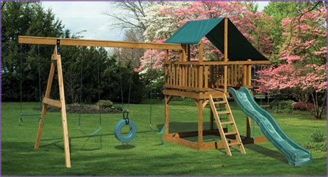 eagle swing sets amish playhouses wood playgrounds for sale in oneonta
