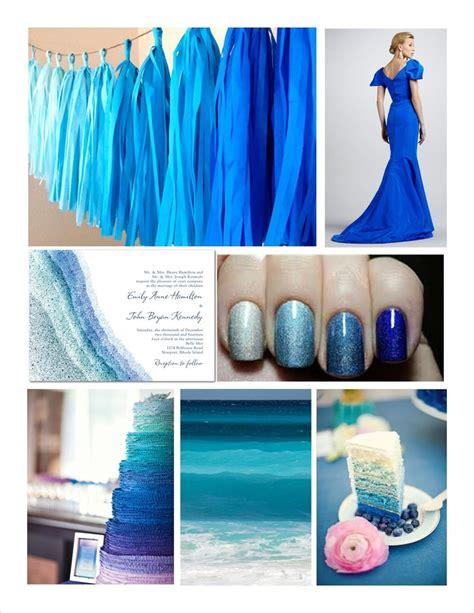blue color palette wedding blue ombre wedding color palette inspiration color