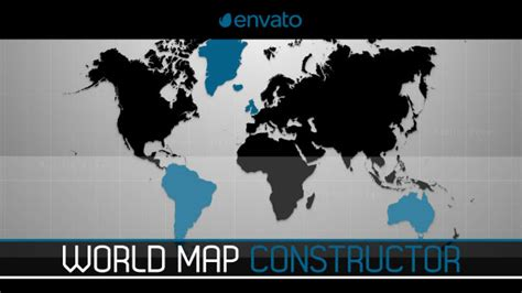 20 Stunning Animated Map After Effects Templates Ae Idesignow Map Animation After Effects Template