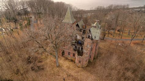 wyndclyffe mansion wyndcliffe mansion aerial footage abandoned hudson valley