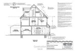 loft conversion floor plans exle loft conversion plan 3