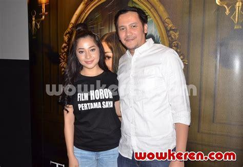 film gasing tengkorak 2017 foto nikita willy dan rendy krisna di jumpa pers film