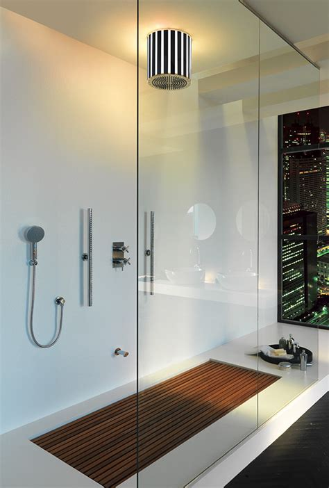 modern bathroom interiors by jaclo - Contemporary Bathroom Showers
