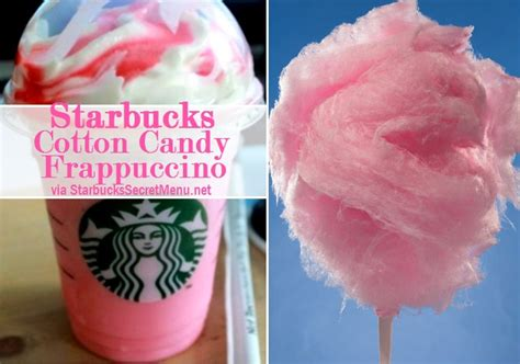 Starbucks Cotton Candy Frappuccino   Starbucks Secret Menu