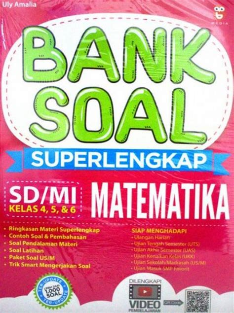 Bank Soal Sd Kls 5 bukukita bank soal superlengkap matematika sd mi
