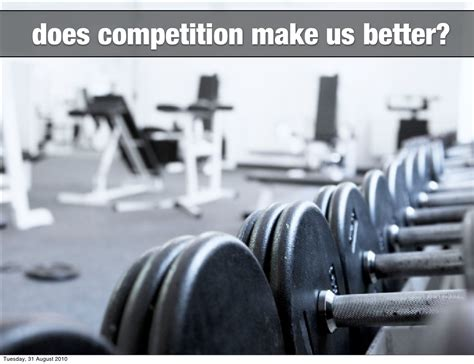 Do Geeks Make Better by Does Competition Make Us Better