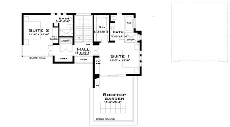simple efficient house plans retro modern house plan