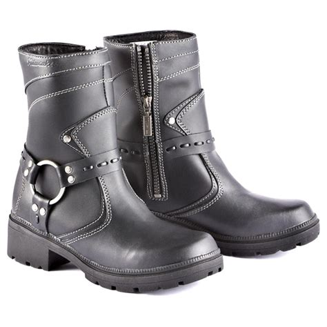 biker riding boots women s milwaukee 174 daredevil riding boots 166665