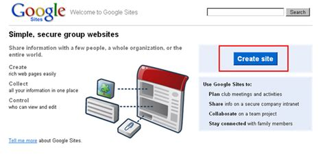 google design your own website how to create your own google sites website
