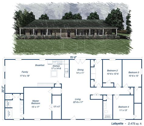 building plans for metal garage click to toggle the lafayette floor plan dream home