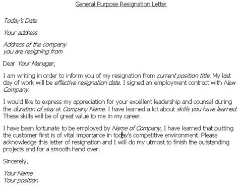 Resignation Letter Terms by Resignation Letter Resignation Letter Leaving On Bad Terms For The Resignation Letter