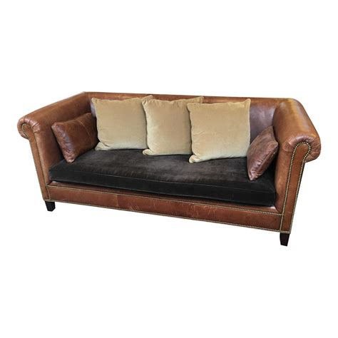 ralph lauren leather sofa sale ralph lauren brompton leather sofa design plus gallery