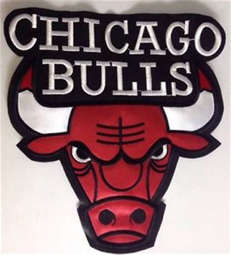 Kaostshirtbaju Basketball Team Chicago Bulls chicago bulls nba basketball 10 quot x 10 quot team logo patch ebay
