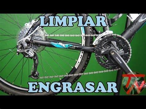 lubricar cadena bicicleta wd40 limpiar transmision de bicicleta y engrasar cadena