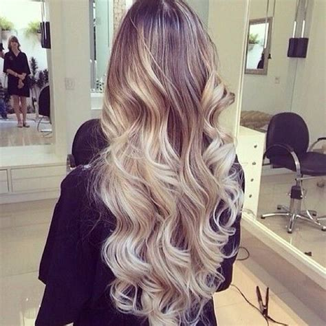 super long platinum blonde ombre hair hair color trends 2015 10 free hair color pictures