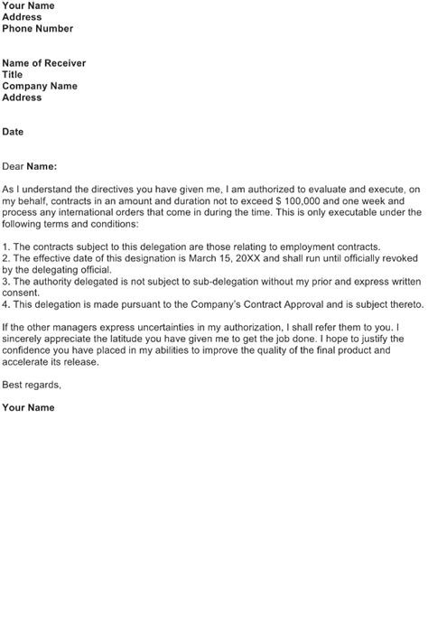 Decline Representation Letter Authorization Letter Sle Free Business Letter Templates And Forms