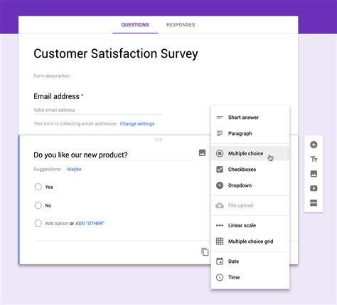 google questionnaire design google form image collections invitation sle and