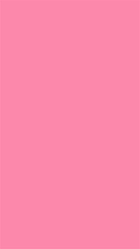 rosa color 640x1136 tickle me pink solid color background