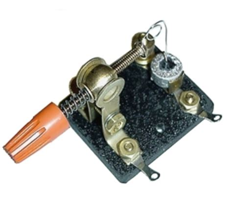 cat whisker diode peebles originals detectors catwhisker and diodes