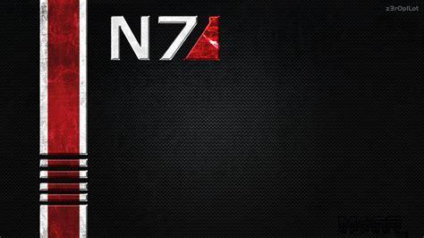N7 Mass Effect n7 wallpaper by z3r0p1lot on deviantart
