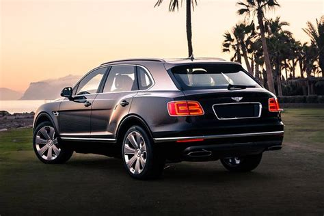 bentley bentayga overview autotrader