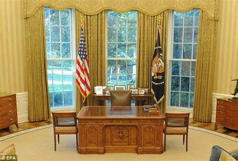 oval office windows churchill out martin luther king in as president obama