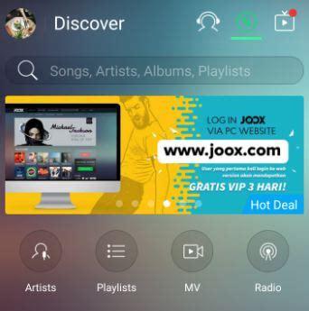 email joox vip cara penggunaan voucher streaming pusat bantuan