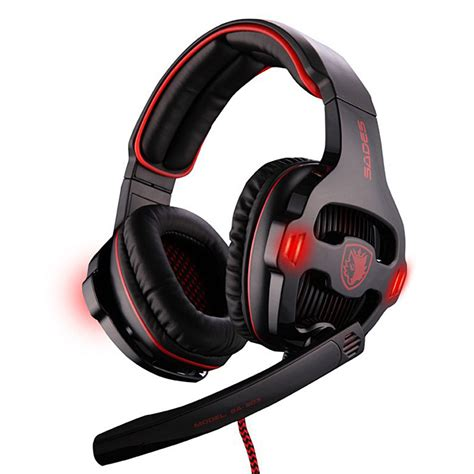 sades sa 903 wired usb gaming 7 1 sound channel headphone with mic