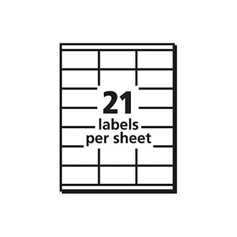 address labels for copiers 1 1 2 x 2 13 16 inches box of