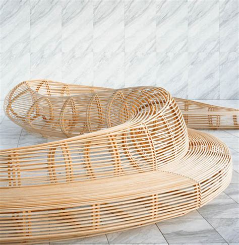 frank gehry bench tokyo design week banca frank gehry simbiosis news