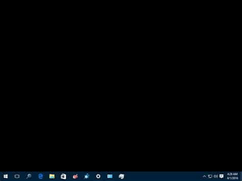 fix desktop turns black  windows