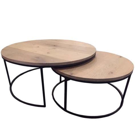 ronde salontafel hout ikea ronde inschuifbare salontafels harrie rombouts zonen
