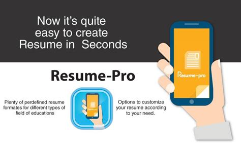 resume pro 1 3 apk android business apps