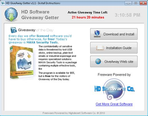 Software Giveaway Of The Day - check out giveaway of the day with hd software giveaway getter techdows