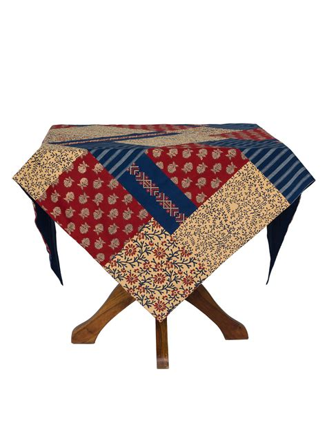 Patchwork Tablecloths - flea market patchwork tablecloth attic sale linens