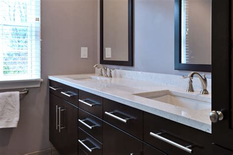 Silestone Bathroom Vanity Silestone Master Vanity Contemporary Bathroom Philadelphia By Cosmos Marble And Granite