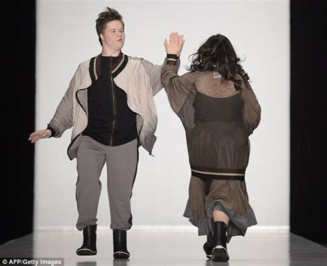 Designers Want Models by Russian Designers Use Disabled Models On Catwalk At Moscow
