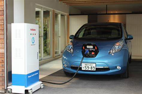 Nissan Leaf Home Charger by Nissan Leaf Power System Extremetech