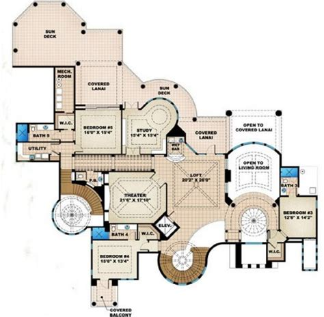 Beach House Open Floor Plans by Villagio Toscana Beach House Plan Alp 08ce Chatham
