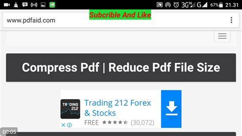 compress pdf dibawah 300 kb gambar mudah mengecilkan ukuran file pdf walidin contoh