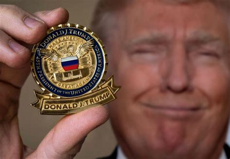 donald trump for president caign trump s presidential challenge coin politicalhumor