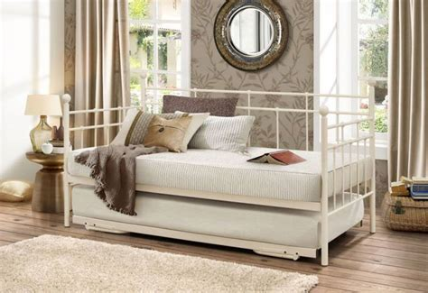Daybed With Pull Out Bed Birlea Furniture Lyon Daybed With Underbed Or Black Pull Out Wrought Iron Guest Bed