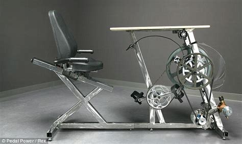 bike pedals desk make a lie in more productive desk supports a