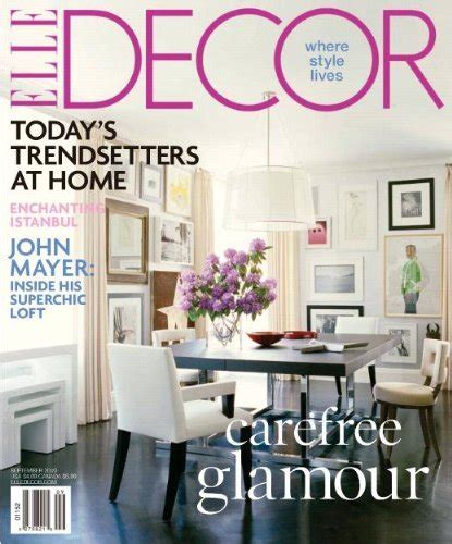 decor magazine 1 year subscription for 4 50