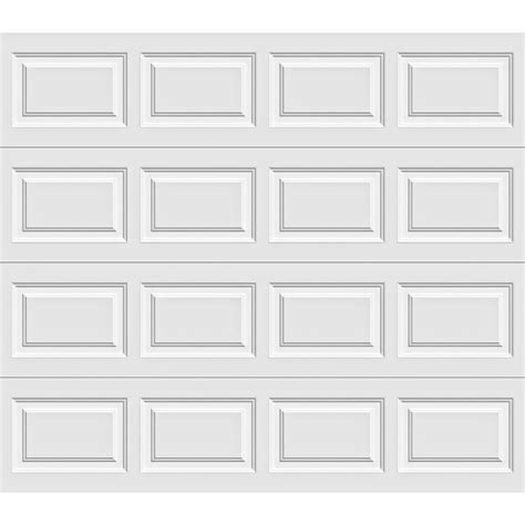 8 X 7 Insulated Garage Door by Clopay Premium Series 8 Ft X 7 Ft 6 5 R Value Insulated